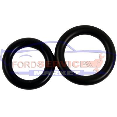 Комплект уплотнительных колец трубок ГУР оригинал для Ford