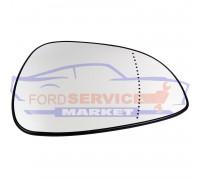 Стекло зеркала правого вкладыш RH с подогревом оригинал для Ford Fiesta 6 c 06-08, Fusion c 06-09, Focus 2 c 04-08, C-Max 1 c 03-07, Mondeo 3 c 04-07