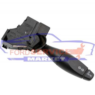 Рычаг переключения поворотников с бортовым компютером Б/У оригинал для Ford Fiesta 6 c 02-08, Fusion c 02-12