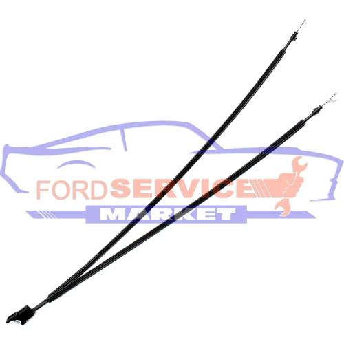 Трос откидывания спинки сидения левого оригинал для Ford Fiesta 6 c 02-08 3D, Fusion c 02-12