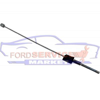 Трос ручника передний короткий неоригинал для Ford Fiesta 6 c 02-08, Fusion c 02-12