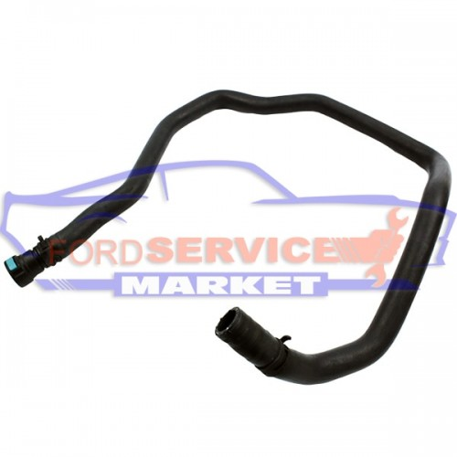Патрубок отопителя от печки к термостату (длинный) оригинал для Ford Fiesta 6 c 02-08, Fusion c 02-12 1.25-1.4.-1.6 Sigma/Duratec