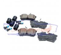 Тормозные колодки керамика задние неоригинал для Ford Fiesta 6 ST150 c 04-08, Fiesta 7 ST180 c 13-17, Focus 1 c 98-04