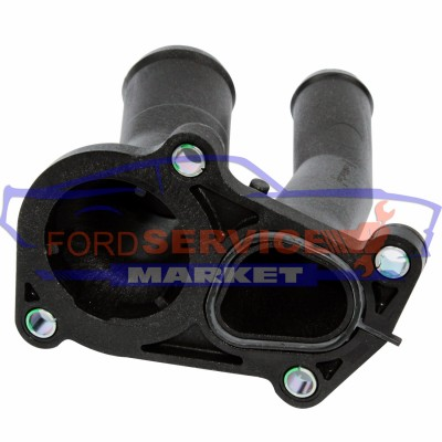 Корпус темостата оригинал для Ford 1.25-1.4-1.6 Duratec/Sigma c 2001-