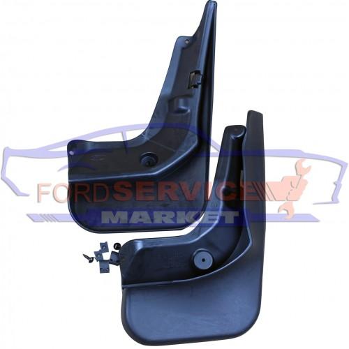Брызговики задние комплект с крепежом оригинал для Ford Focus 3 c 11-18 седан
