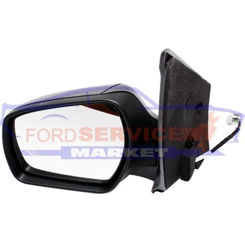 Зеркало левое электрическое в сборе (большое) оригинал для Ford Fusion c 09-12