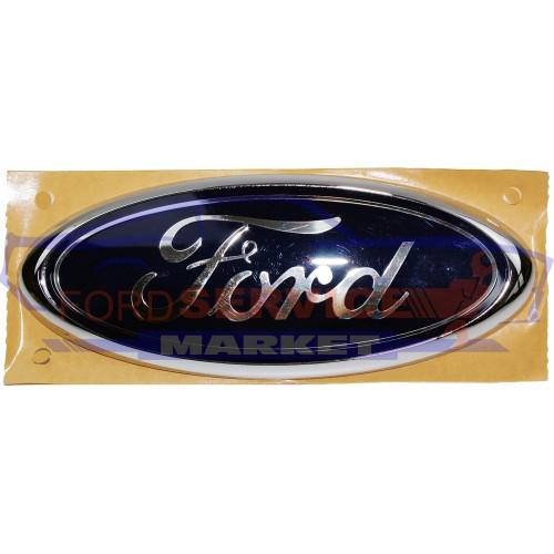 Эмблема FORD крышки багажника оригинал для Ford Fusion c 02-12, Focus c 04-, Kuga c 08-12, Mondeo 4 c 07-14