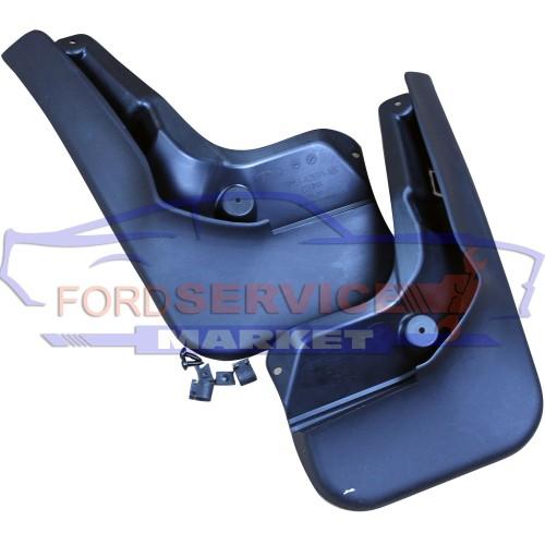 Брызговики задние комплект с крепежом оригинал для Ford Focus 3 c 11-18 хетчбек