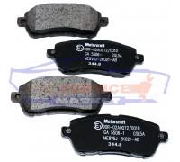 Тормозные колодки дисковые передние оригинал для Ford Fiesta 7 c 08-17