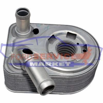 Радиатор масляный (теплообменник) для Ford 1.4-1.5-1.6 TiVCT
