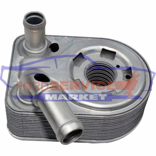Радиатор масляный (теплообменник) оригинал для Ford 1.4-1.5-1.6 TiVCT