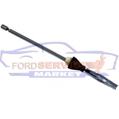 Трос ручника задний короткий неоригинал для Ford Fiesta 6 c 02-08, Fusion c 02-12