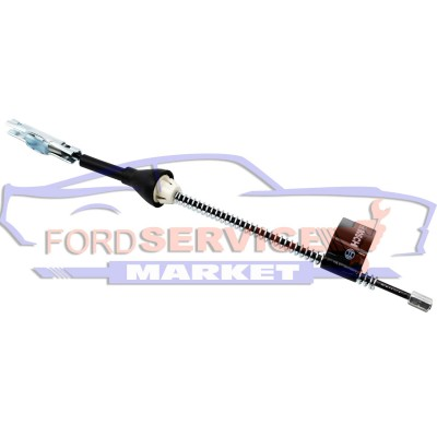 Троc ручника задний короткий неоригинал для Ford Focus 2 c 04-11