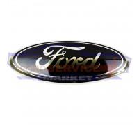 Эмблема FORD передняя оригинал для Ford Fiesta 7 c 08-12, Focus 3 c 11-14, C-Max 2/Grant c 10-15