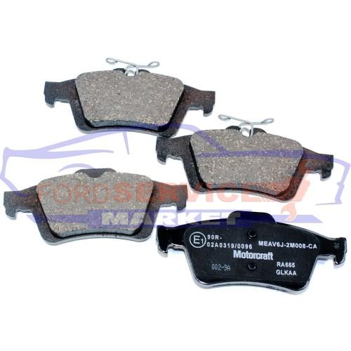 Тормозные колодки дисковые задние оригинал для Ford Focus 3 ST c 12-, Kuga 2/Escape c 13-