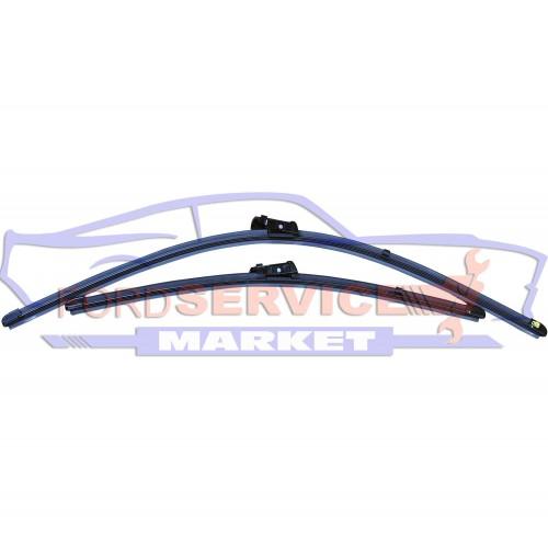 Дворник щетка стеклоочистителя лобового стекла левый + правый комплект 650мм+475мм оригинал для Ford Mondeo 4 c 07-13