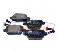 Тормозные колодки дисковые задние неоригинал для Ford Mondeo 4 c 07-14, S-Max/Galaxy c 06-15, Kuga 1 c 08-12