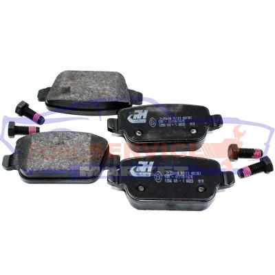Тормозные колодки дисковые задние неоригинал для Ford Mondeo 4 c 07-14, S-Max/Galaxy c 06-15