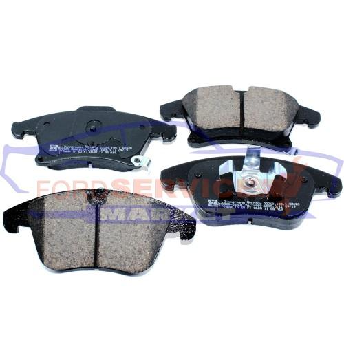 Тормозные колодки дисковые передние неоригинал для Ford Mondeo 5 c 14-, Fusion USA c 13-, Galaxy 3/S-Max 2 c 15-