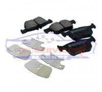 Тормозные колодки дисковые задние неоригинал для Ford Mondeo 5 c 14-, Fusion USA c 13-, Galaxy 3/S-Max 2 c 15-, Edge c 15-
