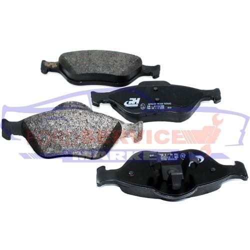 Тормозные колодки дисковые передние неоригинал для Ford Fiesta 6 c 02-08, Fusion c 02-12
