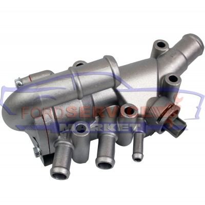 Корпус термостата в сборе алюминий неоригинал для Ford 1.3 Duratec Rocam 8V