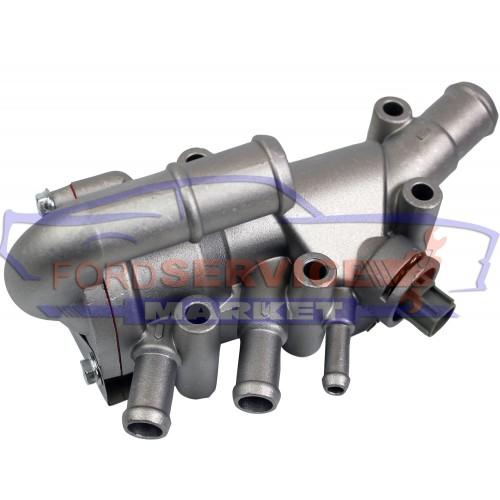 Корпус термостата в сборе анаолог для Ford с 1.3 Duratec Rocam 8V, алюминиевый