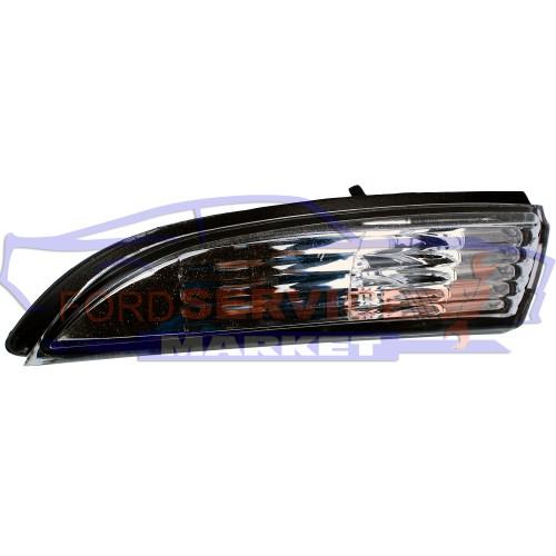 Повторитель поворота левый в зеркале неоригинал для Ford Fiesta 7 c 08-17, B-Max c 12-