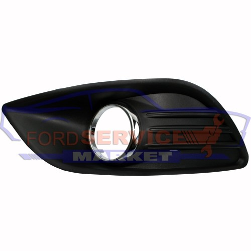 Накладка ПТФ левая хром неоригинал для Ford Focus 2 c 08-11