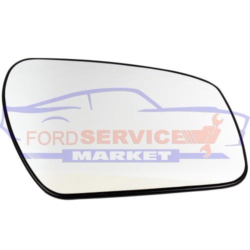 Стекло зеркала RH подогрев круглое крепление неоригинал для Ford Fiesta 6 c 06-08, Fusion c 06-09, Focus 2 c 04-08