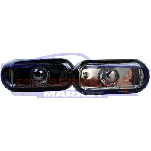 Повторитель поворота комплект дымчатые неоригинал для Ford Fiesta 6 c 02-08, Fusion c 02-12, Focus 2 c 04-11, C-Max 1 c 03-10