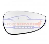 Стекло зеркала правого вкладыш RH с подогревом аналог для Ford Fiesta 7 c 08-17, B-Max c 12-
