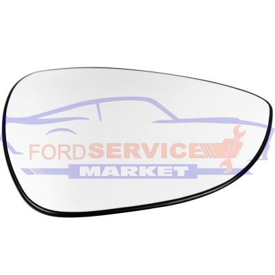 Стекло зеркала правого подогрев неоригинал для Ford Fiesta 7 c 08-17, B-Max c 12-