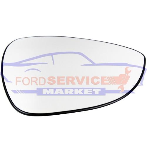 Стекло зеркала правого вкладыш RH с подогревом аналог для Ford Fiesta 7 c 08-17, B-Max c 12-17