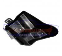 Кронштейн крепление заднего бампера правый неоригинал для Ford Fiesta 7 c 08-17