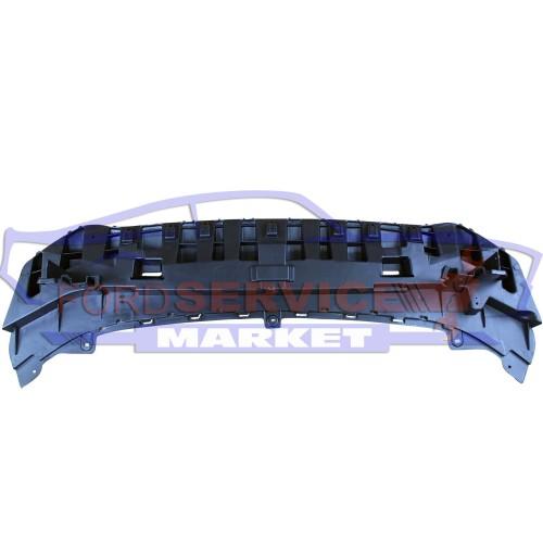 Защита переднего бампера нижний дефлектор аналог для Ford Fiesta 7 c 12-18 EURO