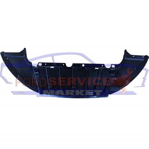 Защита переднего бампера нижний дефлектор аналог для Ford Focus 3 c 14-18