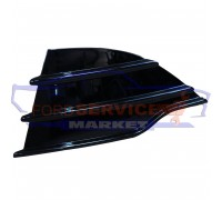 Решетка переднего бампера левая глянец неоригинал для Ford Kuga 2 c 13-16, Escape c 13-16