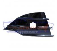 Решетка переднего бампера правая глянец неоригинал для Ford Kuga 2 c 13-16, Escape c 13-16