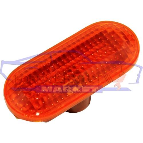 Повторитель поворота в крыло оранжевый аналог для Ford Fiesta 6 c 02-08, Fusion c 02-12, Focus 2 c 04-08, C-Max 1 c 03-08