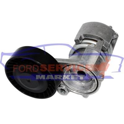 Натяжитель ремня генератора в сборе неоригинал для Ford Mondeo 4 c 07-11, Kuga 1 c 08-12 для 2.5 Turbo