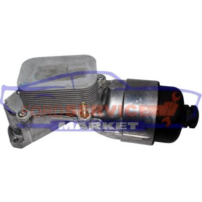Корпус маслянного фильтра с теплообменником неоригинал для Ford Fiesta 6 c 02-08, Fusion c 02-12 для 1.4-1.6 TDCi