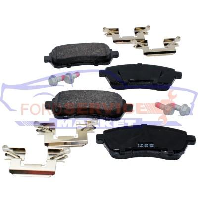 Тормозные колодки дисковые передние неоригинал для Ford Fiesta 7 c 08-17