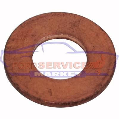 Шайба медная прокладка болта слива масла 10х20х2 аналог для Ford с 1.4-1.5-1.6-2.0-2.2 TDCi