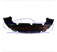 Защита переднего бампера нижний дефлектор аналог для Ford Focus 2 c 08-11, C-Max 1 с 07-10
