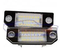 Плафон подсветки номера LED комплект неоригинал для Ford Focus 2 c 04-11