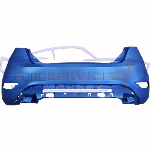 Бампер задний аналог для Ford Fiesta 7 c 08-18 EURO хетчбек
