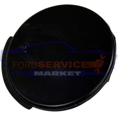 Заглушка буксировочного крюка переднего бампера черная неоригинал для Ford Fiesta 6 c 02-05