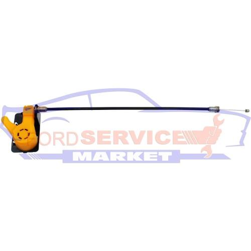 Рычаг открывания замка капота с тросиком неоригинал для Ford Focus 3 c 11-