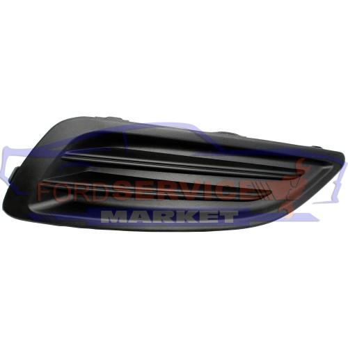 Накладка ПТФ левая глухая неоригинал для Ford Fiesta 7 c 12-17